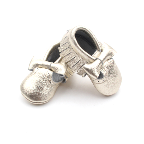 Fantastic Discount First Step Shoes New Style Bow Baby Moccasins Shoes