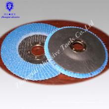 "4.5""*7/8"" zirconia corundum falp wheel grit 120"