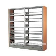 doppelseitiges Bibliothek Metall Eisen Bücherregal