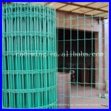El nuevo diseño ISO 9001 galvanizado o PVC cubrió la cerca euro del acoplamiento de alambre soldado para la venta