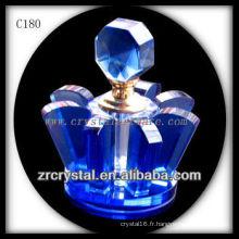 Belle bouteille de parfum en cristal C180