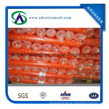 4'x100 'Orange Warnbarrierenzaun