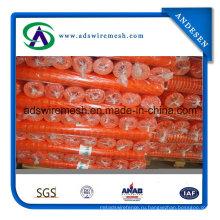 4'x100 оранжевый предупреждающий барьер забор