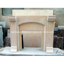 Home Decoration Cheap Marble Fireplace (SY-MF139)