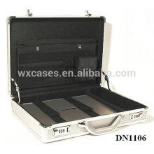 caja del ordenador portátil de aluminio fuerte y portátil con seguridad cerraduras