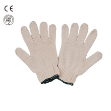 safety work white cotton gloves