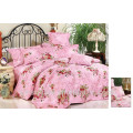 Cheap home bedding set,100%polyester bedding set,flower printed bedding set