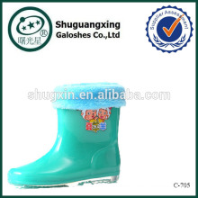 Sicherheitsstiefel pvc Regen für Kinder Regen Stiefel Fabrik Winter/C-705
