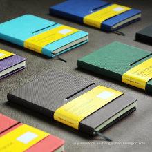 Diario de la cubierta de la PU / Diario / Agenda / Cuaderno de papelería de la cubierta de cuero