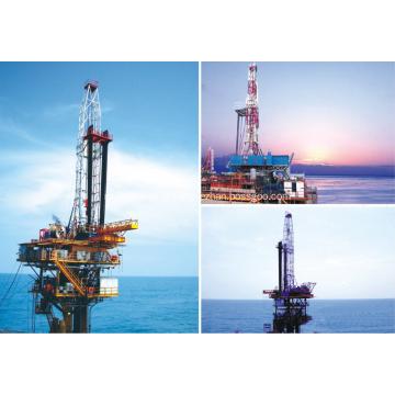 Venda plataforma de perfuração de gás e petróleo offshore de 2000hp