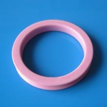 Guia de anel de cerâmica de alumina rosa