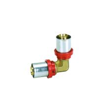 Cotovelo de redução (ajuste de pressão) Conexão de latão