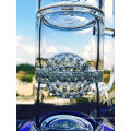 18inch 5thickness Honeycomb Ball Birdcage Perc Glass Smoking Water Pipe