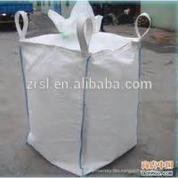 PP jumbo bag with plat bottom filling spout