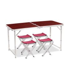 Производство современного алюминиевого кемпинг стол складной стол для пикника каркас