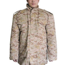 Desert digital M65 jacket with hood