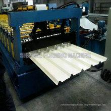 Farbe Blatt Dach und Wand, der Maschine herstellt