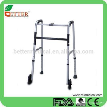 Marcheur en aluminium peu coûteux pour personnes âgées