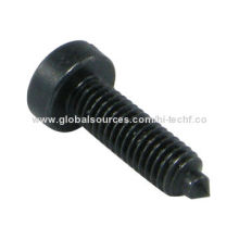 Slotted Cheese Head Machine Screw with Dog Point, Cone End, M5-0.8 x 17