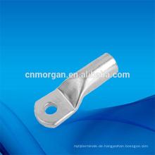Einloch-Kupfer-Crimp-Kabelschuh-Ring-Anschlussklemmen mit Ösen