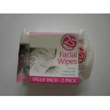 2pack 25PCS Facial Clean Wipe