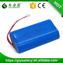 Preço de fábrica recarregável 3.7 v 4400 mah de íon de lítio 18650 bateria li-ion