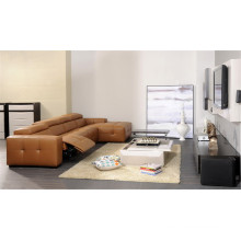 Living Room Sofa with Modern Genuine Leather Sofa Set (426)