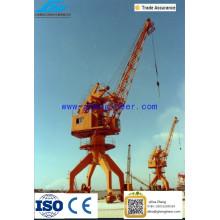 40t Shipyard Portal Crane Portal Jib Crane, 10T Single Jib Harbour Portal Grue pour Dock and Shipyard