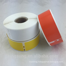 custom printing thermal paper 30252 compatible label