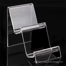 2-Tier Clear Acrylic Mount Holder Display Stand for Cell Phone