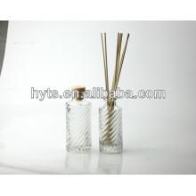 bouteille de verre de diffuseur d'arome
