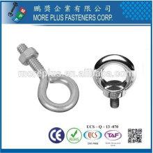 Taiwan Liga de aço Aço inoxidável Aço carbono JIS 1168 DIN580 Olho de solda Bolt Shoulder Pattern Eyebolts