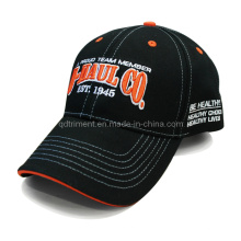 Constructed Embroidery Sandwich Cotton Twill Sport Baseball Cap (TRB081)