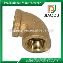 china manufacturer competitive price best sale no lead forged npt 58-2 brass female threaded 90 degree elbow pipe fitting