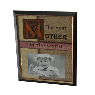 Mother Day Plastic Photo Frame for Home Deco