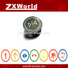 B13P4 elevador peças empurrar botão schindler elevador botões de pressão peças elevador botão