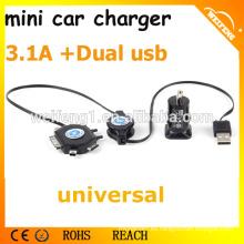 DC cargador de batería de emergencia del teléfono móvil / cargador de coche industrial / cargador de batería de reserva para teléfono celular