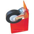 "3"" durables PP Shopping Cart roulette & roue"