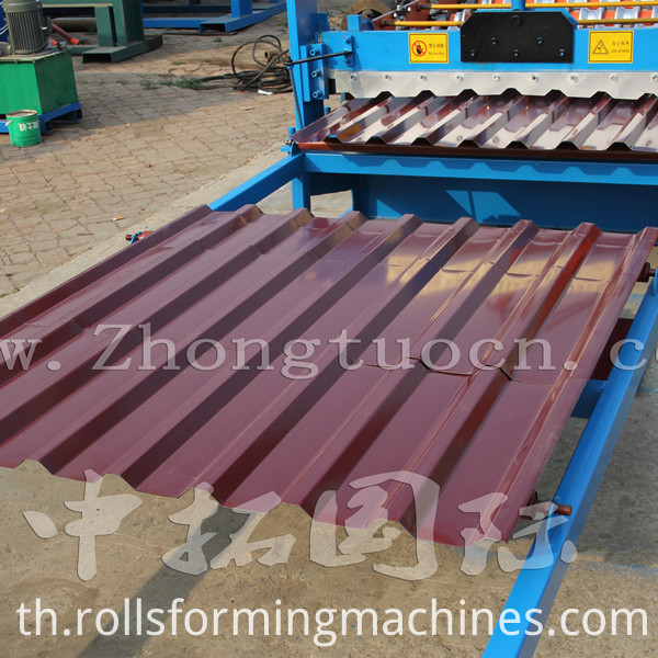 roof panel roll forming machine (48)