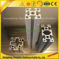Extrusões de alumínio do ISO 9001 para a linha de produção industrial perfil de alumínio