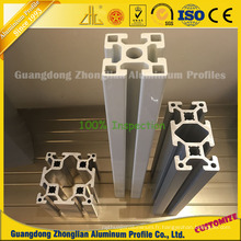Extrusions d'aluminium d'OIN 9001 pour le profil en aluminium de chaîne de production industrielle
