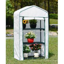 Wirtschaftliches wasserdichtes einfaches Gartenblumengewächshaus