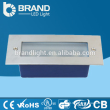 Die-Casting Ip65 3w Square Wall Lamp/ 3w LED Step Light Stair Light/ LED Wall Light Outdoor