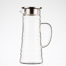 Großes Glas Eistee infuser picther