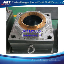 OEM plastic bucket with cover injection mold injection mop bucket mould