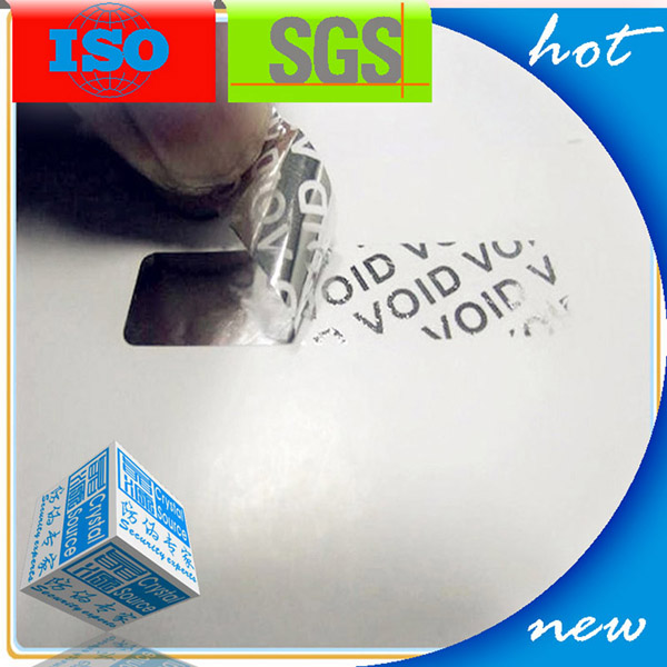 Cutom Tamper Evident 3D Hologram Sticker