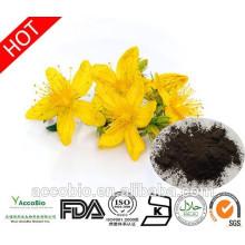 Boa qualidade natural Hypericin Extrato de Wort de St.John 0.3% UV, Hyperforin 3% HPLC