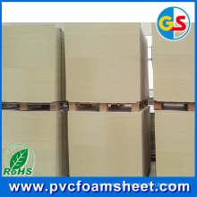 Hoja de espuma de PVC