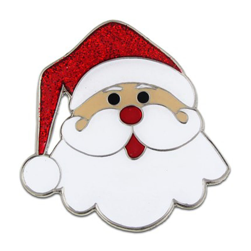Holiday Santa Pin