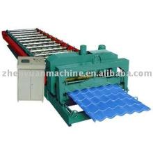 Máquina de formação de rolos, máquina de formação de telhas de telhado, máquina de formação de rolo de telha de telhado, atender ao seu pedido